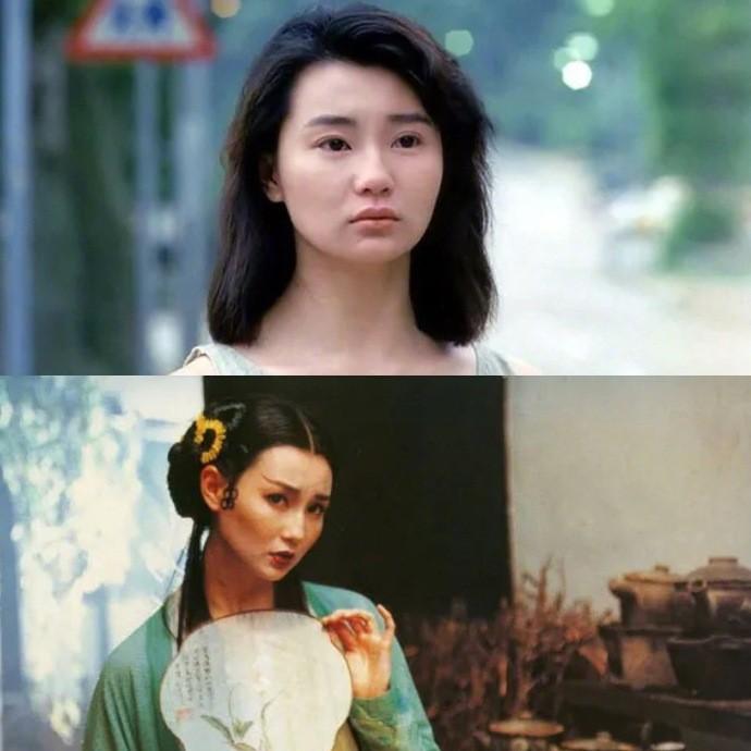 图为张曼玉,她演过徐克导演的《青蛇》《新龙门客栈》.