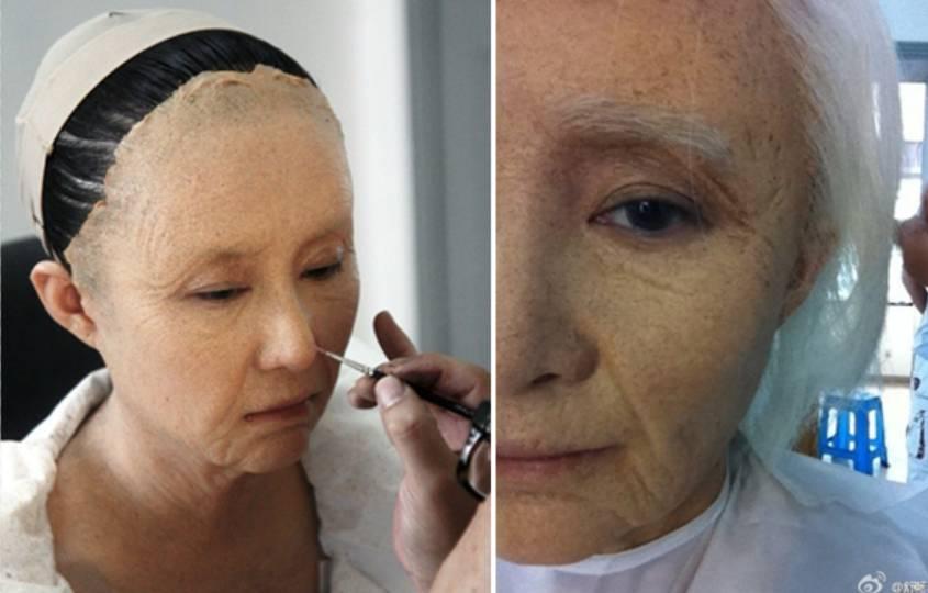 吴倩做倒模流出鼻血 人皮面具糊脸上皮肤会不会过敏?图片