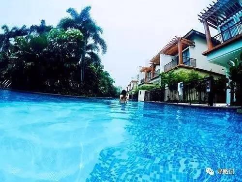 一出門就可以跳進泳池,這個隱藏在廣東英德的水上別墅