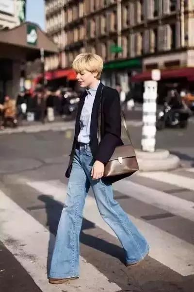 今年流行这三种裤子,紧身牛仔裤已经out了 服饰潮流 图17