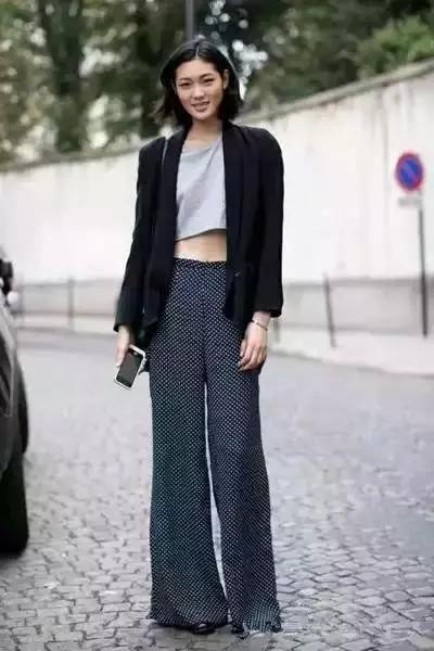 今年流行这三种裤子,紧身牛仔裤已经out了 服饰潮流 图14