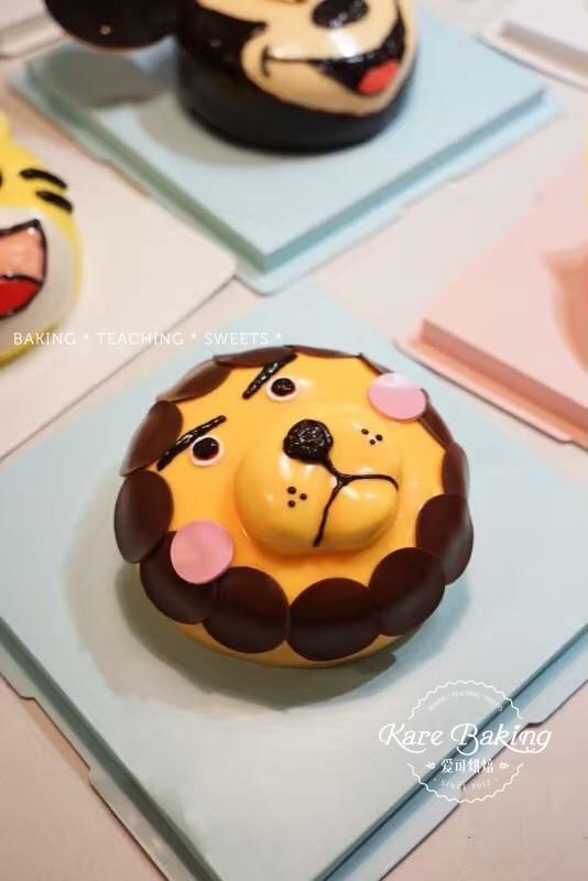 蛋糕课    涵盖日式水果奶油,人鱼芭比/3d卡通场景(任选),超萌芝士