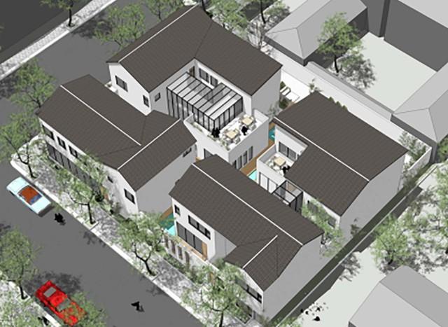 想盖房 就上易盖房网 设计、施工、装修、家居 一站式服务  项目名称:延庆王家自宅 项目地点:中国 北京 延庆区 基地面积:832平米 占地面积:558平米 建筑面积:1043平米 建筑结构:剪力墙结构