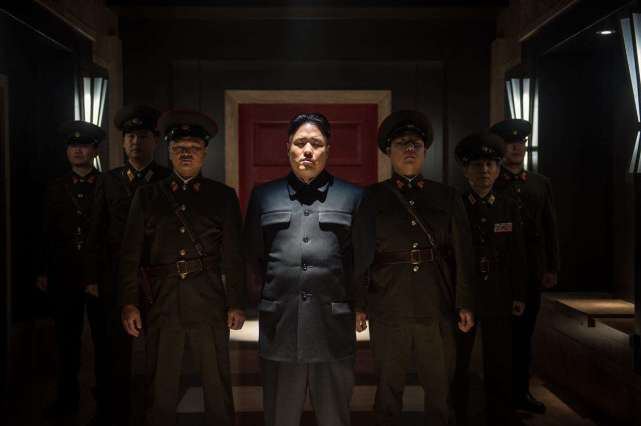 图:索尼拍摄的朝鲜题材电影剧照