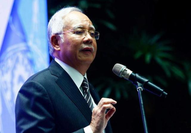 图:马来西亚总理纳吉布