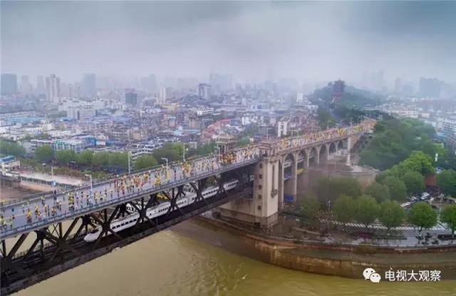 """央视体育频道直播""""汉马""""到底有何问题,导致武汉市民在社交媒体上沸腾?"""