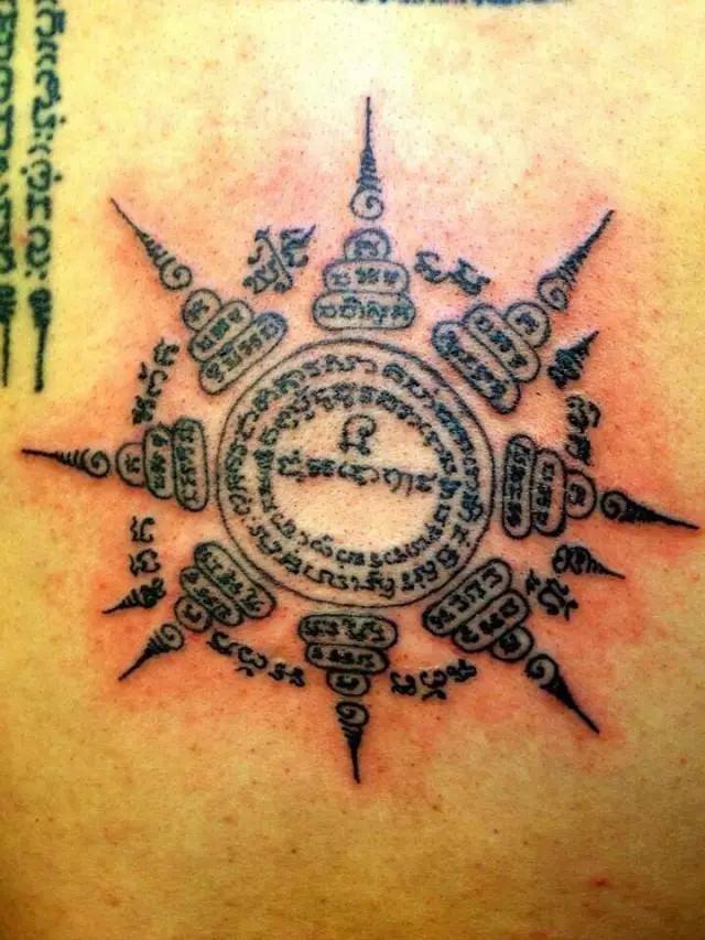 泰国纹身主要图腾功效讲解,不了解刺符的千万不要刺符图片