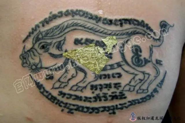 泰国纹身主要图腾功效讲解,不了解刺符的千万不要刺符
