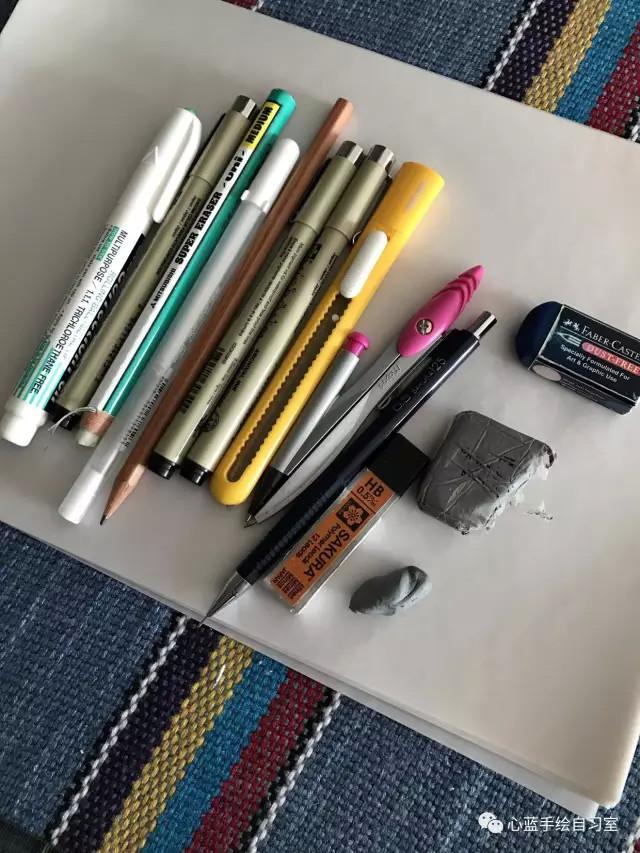 蓝忘机图片手绘铅笔