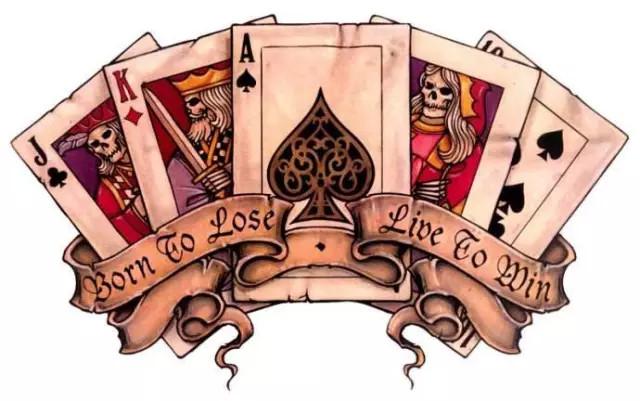 所谓的传统美式纹身(old school),其实就是几十年前在水手和士兵之间
