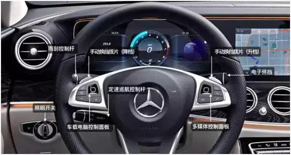 指尖滑动,get新技能——新e车内功能键图解
