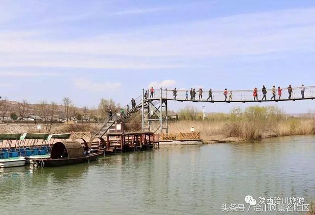 寻找春天,有人竟然寻到了洽川风景区四月活动