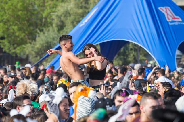 「直击现场」以色列全国在狂欢,这是属于犹太人的节日