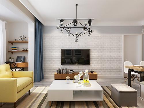 家具简约风展板