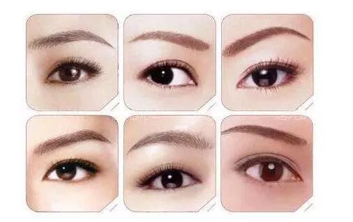 眉毛美颜值翻一倍!你的脸型适合哪种眉形?