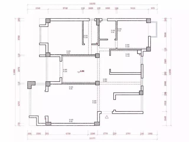 原始房屋结构图