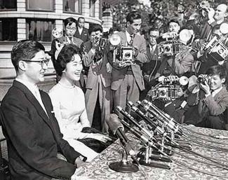 贵子公主下嫁的则是在日本进出口银行工作的普通职员岛津久永.