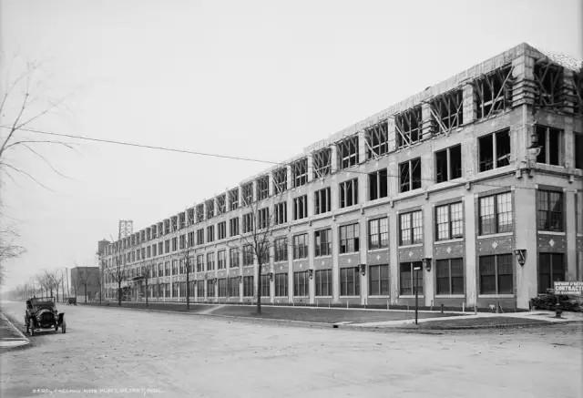 Packard Automotive Plant, Albert Kahn, Detroit,1903