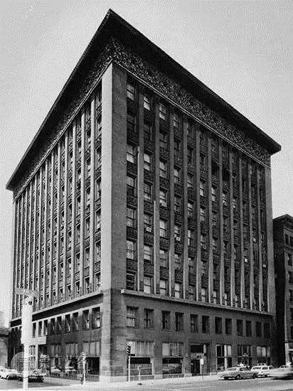Wainwright Buildings, Louis Sullivan, St. Louis, Missouri, 1891