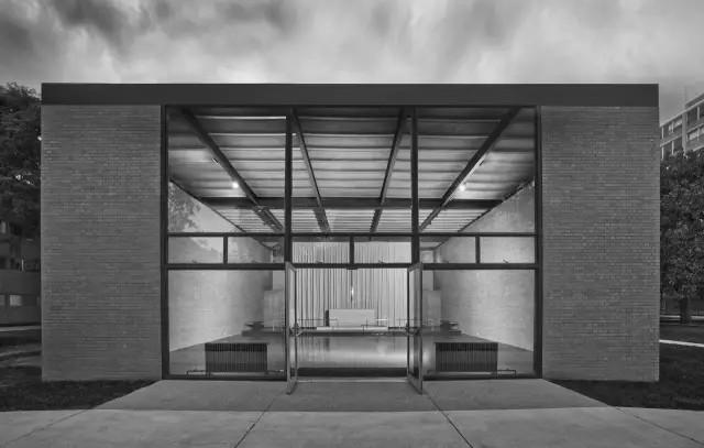 Mies van der Rohe, Chapel, IIT, Chicago, 1952
