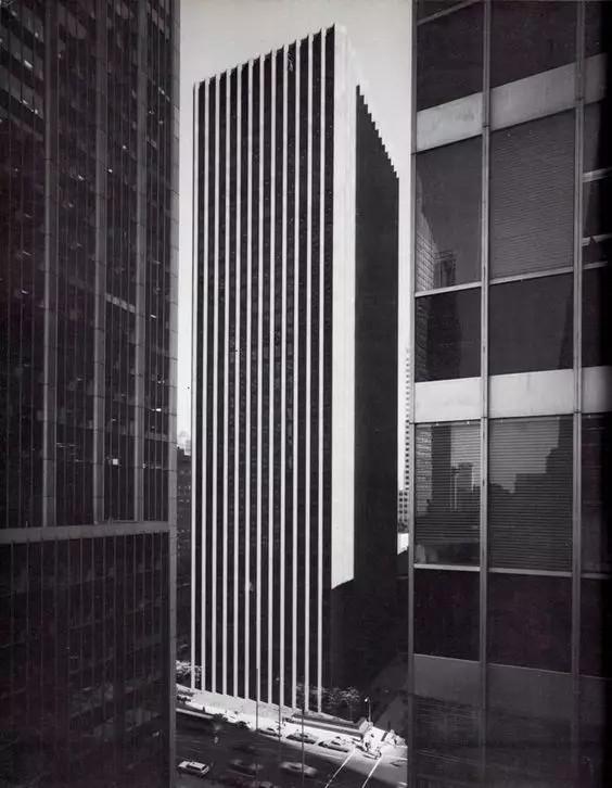 CBS Building, New York City, Eero Saarinen, 1961-1965