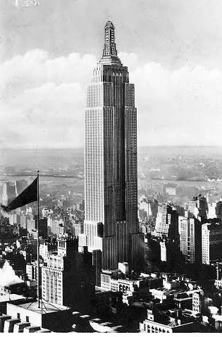 Empire State Building, New York City, Shreve, Lamb, and Harmon,1931
