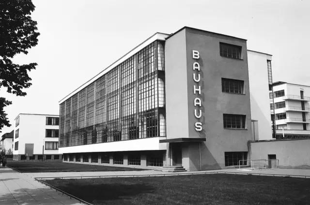 Gropius and Adolf Meyer, founded Bauhaus, 1919