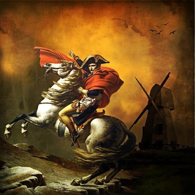 雅克-路易·大卫《拿破仑》