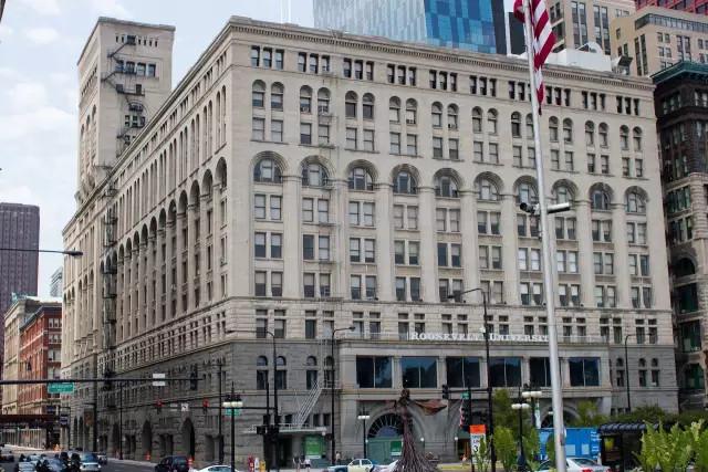 Auditorium Building, Louis Sullivan and Dankmar Adler, Chicago, Illinois,1890