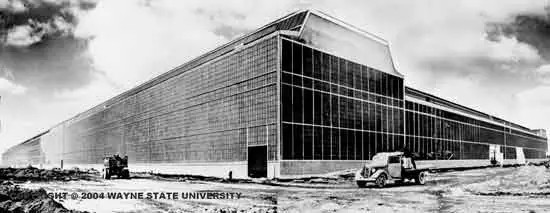 Detroit Arsenal Tank Plant, Warren, Michigan, Albert Kahn, 1940