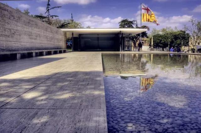 巴塞罗那国际博览会德国馆(Barcelona Pavilion)