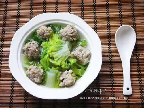 Image result for 蔬菜丸子汤